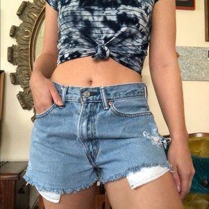 Vintage Levi's 550 Denim Shorts